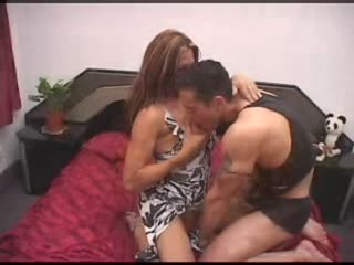 Shemale Seduces Stud