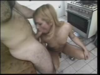 Shemale With Hot body and Cock Has Kitchen Sex